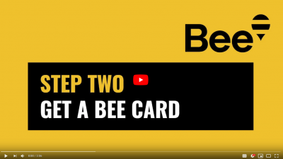 Bee Card – Step 2 – Get a Bee Card